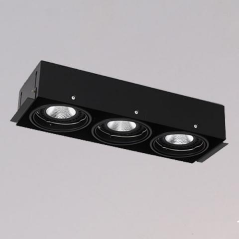 開孔440*150mm*AR111 COB 15W*3無邊框盒燈 1