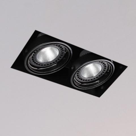 開孔300*150mm*AR111 COB 15W*2無邊框盒燈 2