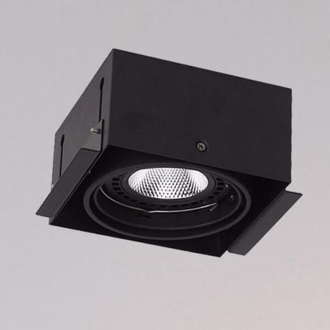 開孔150*150mm*AR111 COB 15W*1無邊框盒燈 1