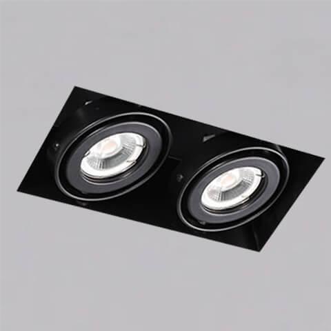 開孔210*108mm*MR16 COB 5W*2無邊框盒燈 2