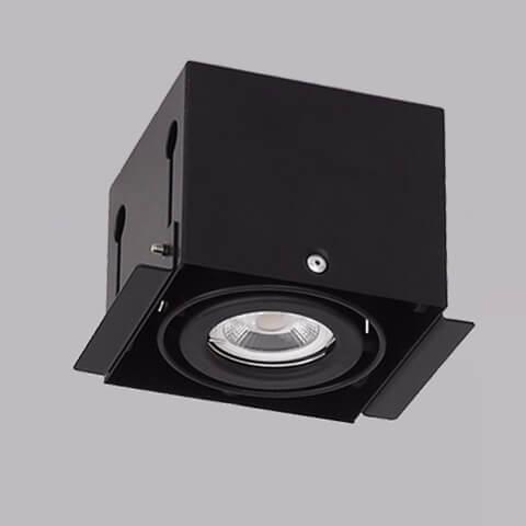 開孔108*108mm*MR16 COB 5W*1無邊框盒燈 1